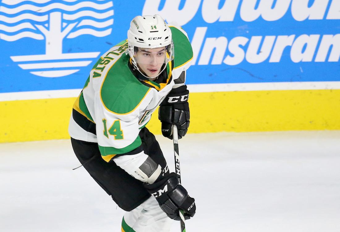 2020 NHL Draft Prospect Luke Evangelista